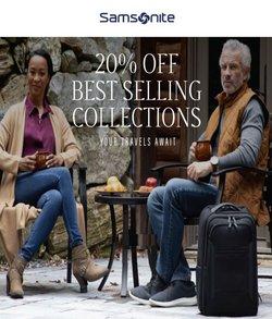 Travel & Leisure deals in the Samsonite catalog ( 10 days left)