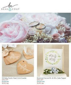 Gifts & Crafts deals in the Beau Coup catalog ( Published today)