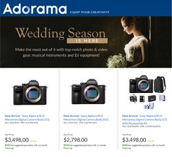 Electronics & Office Supplies deals in the Adorama catalog ( Published today)