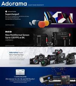 Adorama deals in the Adorama catalog ( 9 days left)