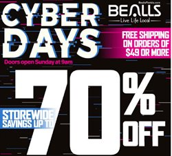 Department Stores deals in the Bealls weekly ad in Stuart FL