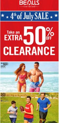 Department Stores offers in the Bealls catalogue in Jacksonville FL ( Expires today )