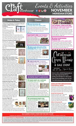 Craft Warehouse deals in the New York weekly ad