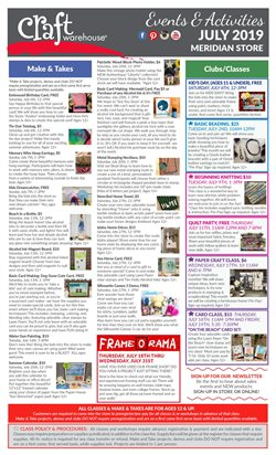 Gifts & Crafts deals in the Craft Warehouse weekly ad in New York