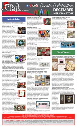 Gifts & Crafts deals in the Craft Warehouse weekly ad in Newark NJ