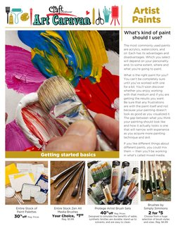 Craft Warehouse catalogue ( 3 days ago )