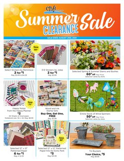 Gifts & Crafts deals in the Craft Warehouse catalog ( 6 days left)