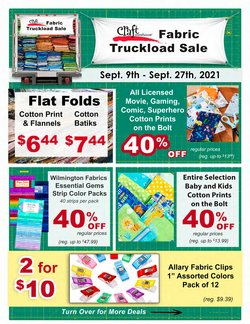 Gifts & Crafts deals in the Craft Warehouse catalog ( 9 days left)