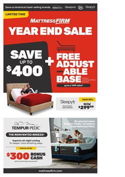 Home & Furniture deals in the MattressFirm weekly ad in Monroe NC