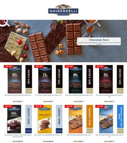 Gifts & Crafts offers in the Ghirardelli catalogue in Los Angeles CA ( Expires today )