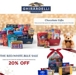 Ghirardelli deals in the Ghirardelli catalog ( Expired)