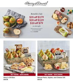 Gifts & Crafts deals in the Harry & David catalog ( Published today)