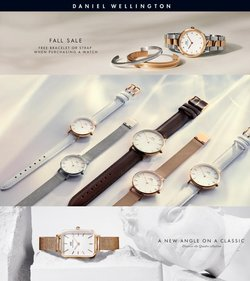 Jewelry & Watches deals in the Daniel Wellington catalog ( 2 days left)