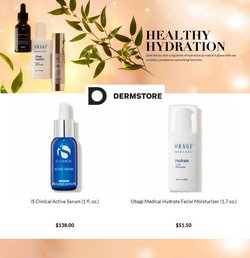 Beauty & Personal Care deals in the DermStore catalog ( Published today)