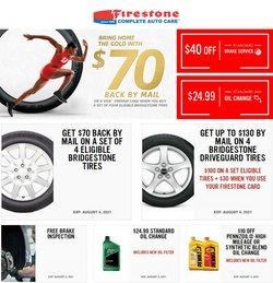 Firestone deals in the Firestone catalog ( 5 days left)