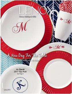 Lenox deals in the New York weekly ad