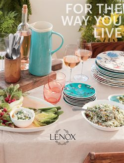 Lenox catalogue in New York ( More than a month )
