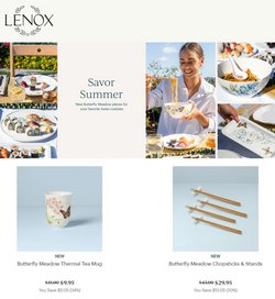 Home & Furniture deals in the Lenox catalog ( Expires tomorrow)
