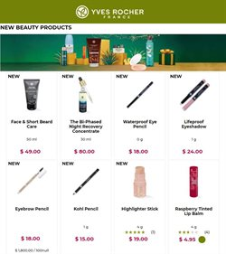Beauty & Personal Care offers in the Yves Rocher catalogue in Dallas TX ( 13 days left )