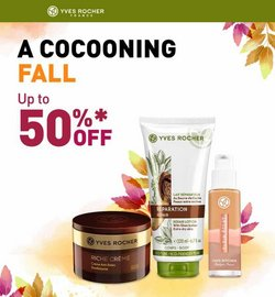 Beauty & Personal Care deals in the Yves Rocher catalog ( Expires today)