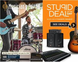 Musician's Friend deals in the New York weekly ad
