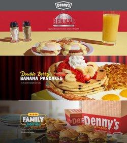 Restaurants deals in the Denny's catalog ( 18 days left)