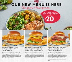 Restaurants deals in the Red Lobster catalog ( More than a month)