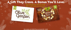 Restaurants deals in the Olive Garden weekly ad in Charleston WV