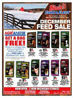 Blain's Farm & Fleet deals in the Madison WI weekly ad