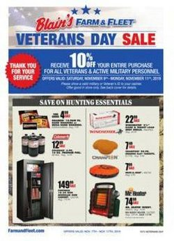 Department Stores deals in the Blain's Farm & Fleet weekly ad in Joliet IL