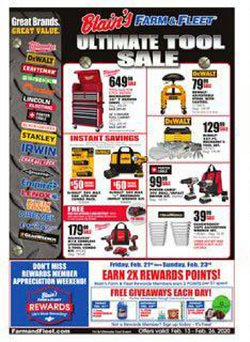 Department Stores offers in the Blain's Farm & Fleet catalogue in Naperville IL ( 2 days left )