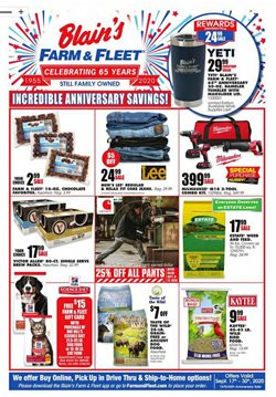 Blain's Farm & Fleet catalogue ( 5 days left )