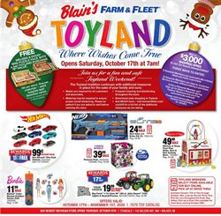 Department Stores offers in the Blain's Farm & Fleet catalogue in Wheaton IL ( 2 days ago )