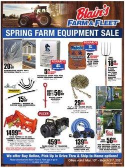 Blain's Farm & Fleet catalogue ( Expired )
