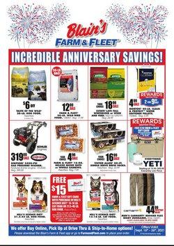 Department Stores deals in the Blain's Farm & Fleet catalog ( 3 days left)