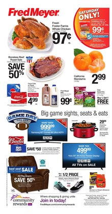 Department Stores deals in the Fred Meyer weekly ad in Kent WA