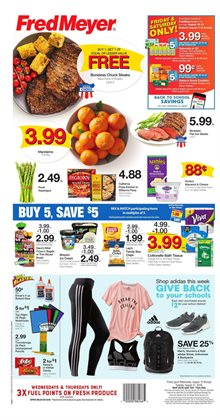 Department Stores deals in the Fred Meyer weekly ad in Federal Way WA