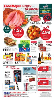 Department Stores deals in the Fred Meyer weekly ad in Bothell WA