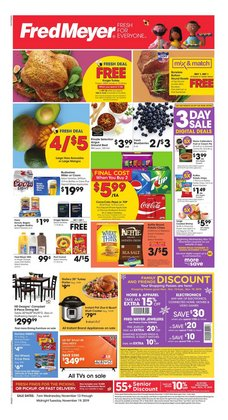 Fred Meyer deals in the Portland OR weekly ad