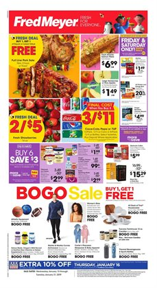 Department Stores deals in the Fred Meyer weekly ad in Pocatello ID