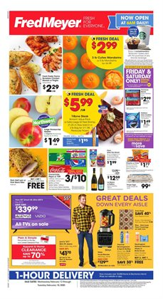 Fred Meyer catalogue ( 2 days left )