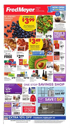 Department Stores offers in the Fred Meyer catalogue in Federal Way WA ( 2 days ago )