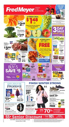 Department Stores offers in the Fred Meyer catalogue in Union Gap WA ( 2 days ago )