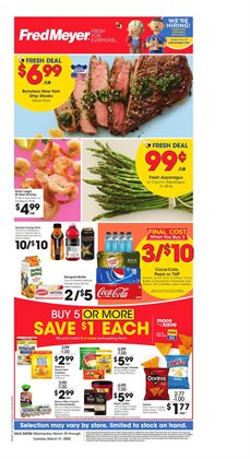 Fred Meyer catalogue ( 3 days left )