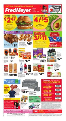 Department Stores offers in the Fred Meyer catalogue in Pocatello ID ( 1 day ago )