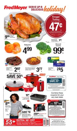 Meat deals in the Fred Meyer weekly ad in Kent WA
