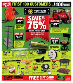 Saw deals in the Northern Tool + Equipment weekly ad in San Antonio TX