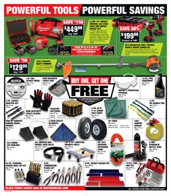 Grinder deals in the Northern Tool + Equipment weekly ad in San Antonio TX