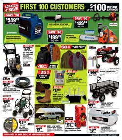 Generator deals in the Northern Tool + Equipment weekly ad in San Antonio TX