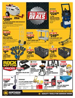 Tools & Hardware offers in the Northern Tool + Equipment catalogue in Hialeah FL ( More than a month )
